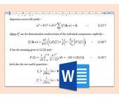 Schrift für Word-Formeln ändern