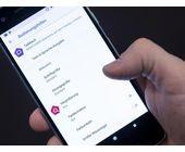 Smartphones für Sehbehinderte einstellen