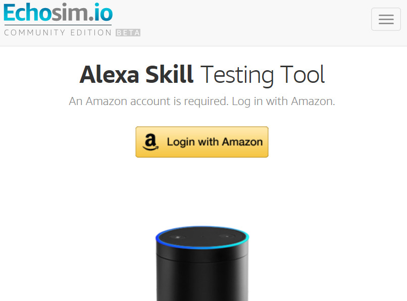 amazon test simulator f r alexa skills. Black Bedroom Furniture Sets. Home Design Ideas