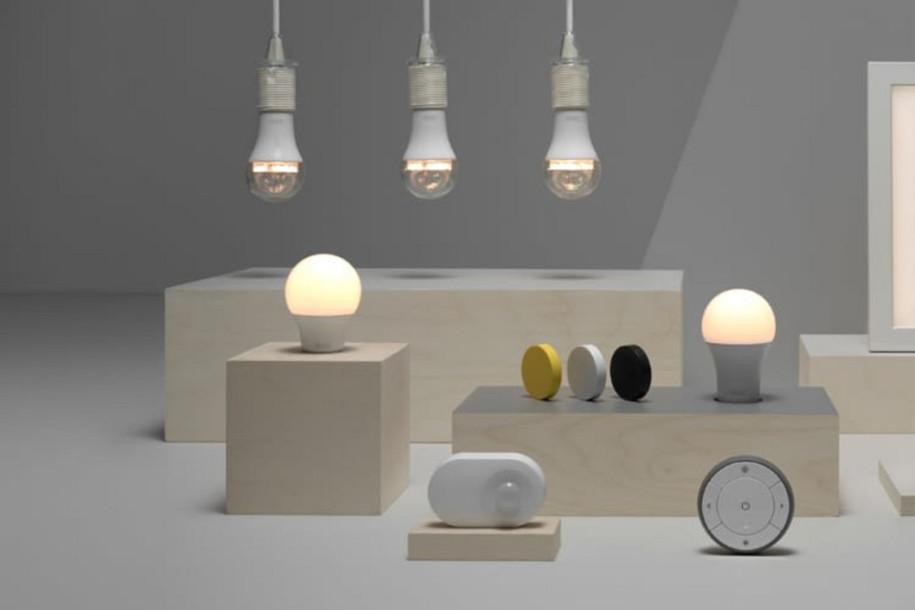 test smartes lampenset ikea tr dfri. Black Bedroom Furniture Sets. Home Design Ideas