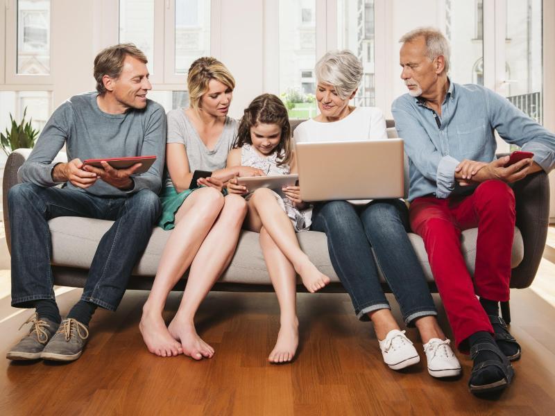 Netflix Familienkonto