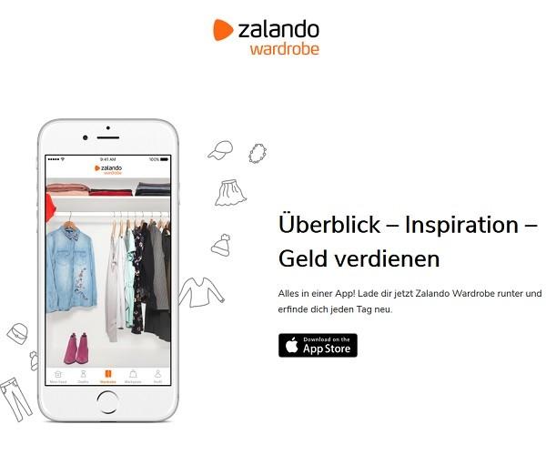 Digitaler Kleiderschrank Zalando Launcht Wardrobe App Onlinepc Ch
