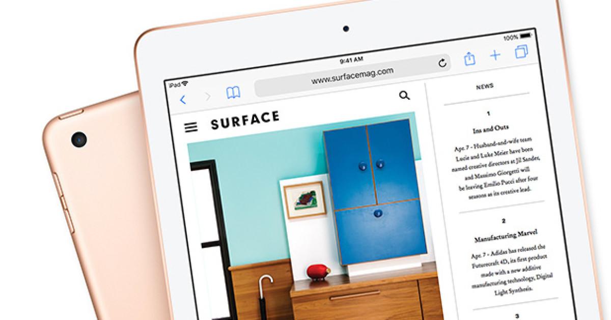 test apple ipad 9 7 2018. Black Bedroom Furniture Sets. Home Design Ideas