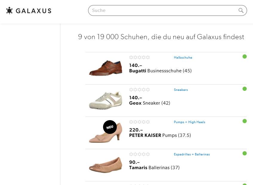 reputable site e8ccb 25835 Galaxus baut Sortiment im Online-Schuhhandel um 11'000 ...