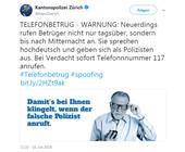 Telefonbetrüger in der Schweiz nutzen neu auch die Abendstunden