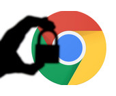 Chrome-Browser mit Schloss