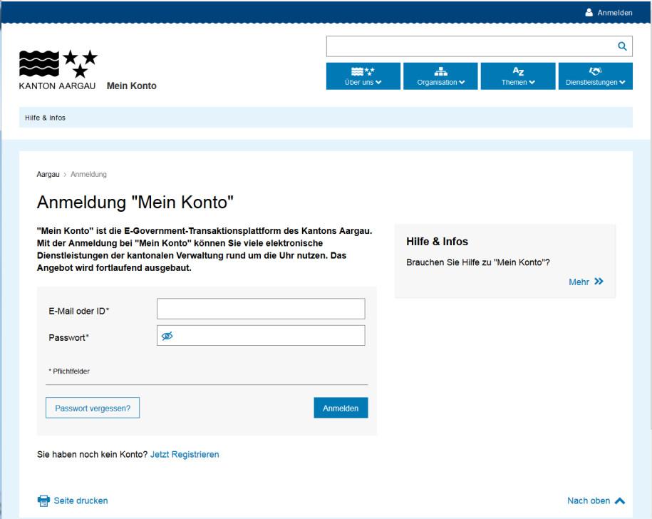 Aargauer Online-Schalter renoviert - onlinepc.ch