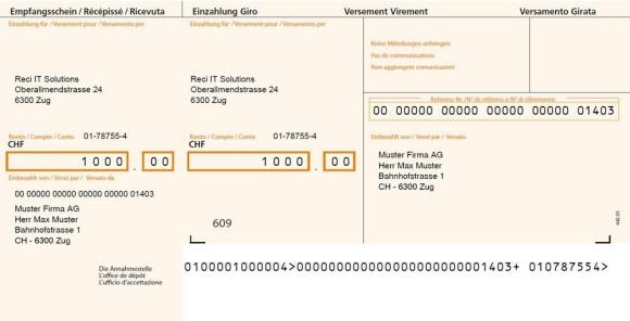 Der Neue Schweizer Einzahlungsschein Das Ist Wichtig Onlinepcch