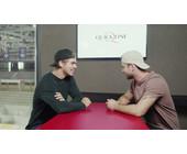 Quickline wirbt mit dem Eishockeyspieler Nico Hischier