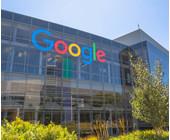 Googlel Logo an einer Hauswand